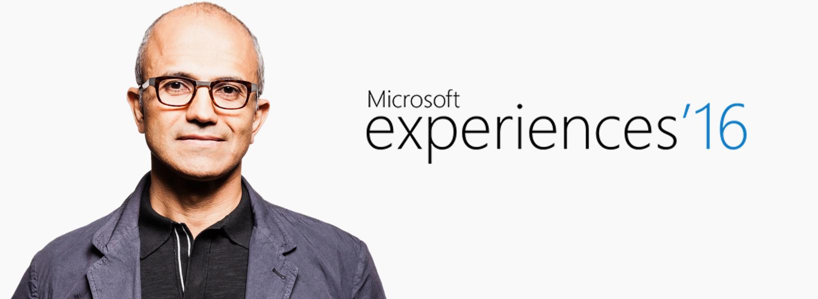Photo Satya Nadella Microsoft Expériences 16