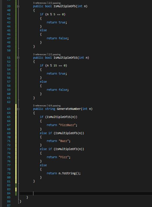 Code Multiples et Génération de nombre